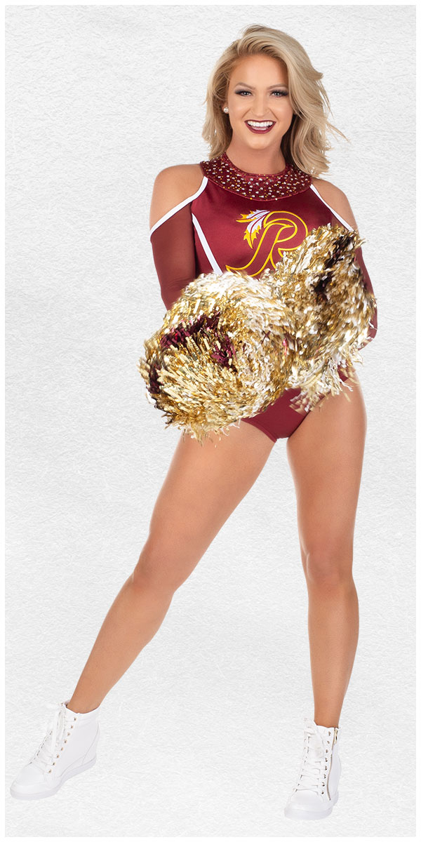 Stephanie -  Washington Redskins Cheerleader 2019